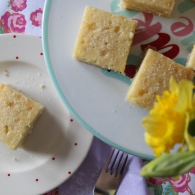 Simple Lemon Drizzle Cake (Gluten-free, Dairy-free, Fructose-free)