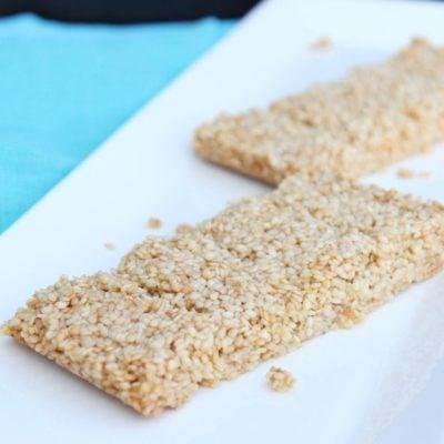 Healthier Sesame Snaps Recipe