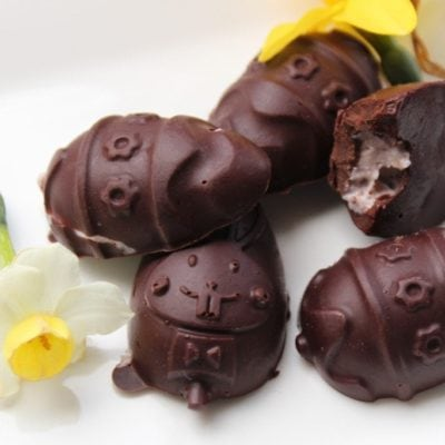 Healthy Chocolate Recipe & Easter Eggs
