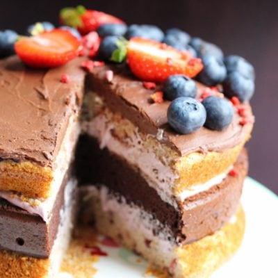 Gluten-free Paris & A Gluten-free, Dairy-free, Sugar-free Birthday Cake