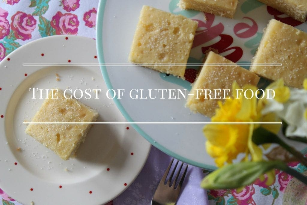 cost of gluten free food