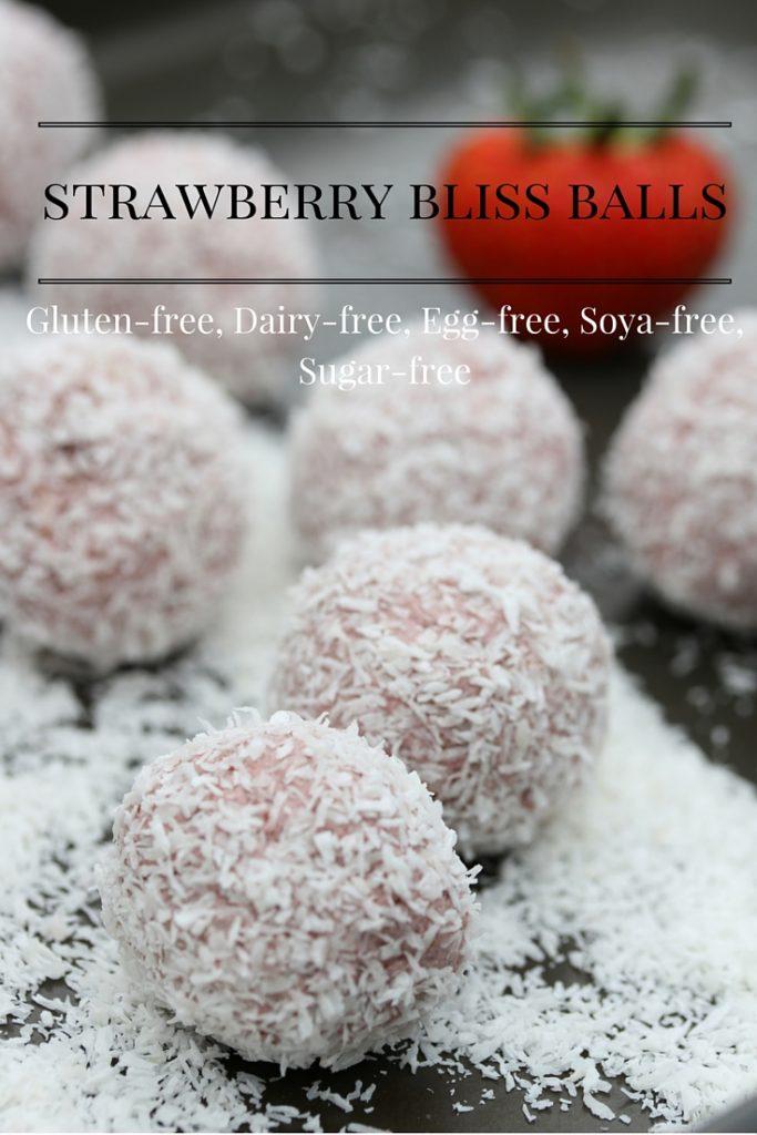 Pinterest strawberry bliss balls