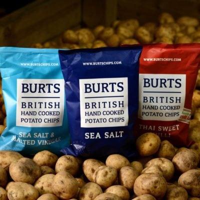 Burts Crisps & A Giveaway