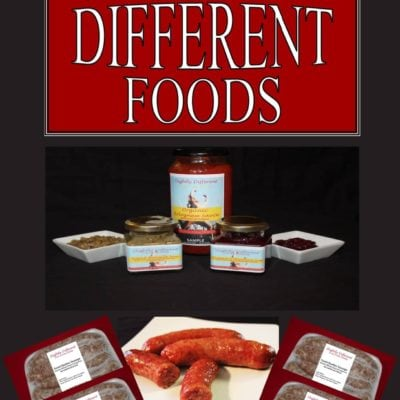 Introducing Slightly Different Foods & A Giveaway…