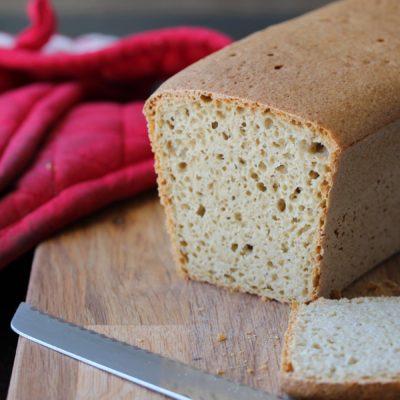 Wholegrain Gluten Free Sandwich Loaf Recipe