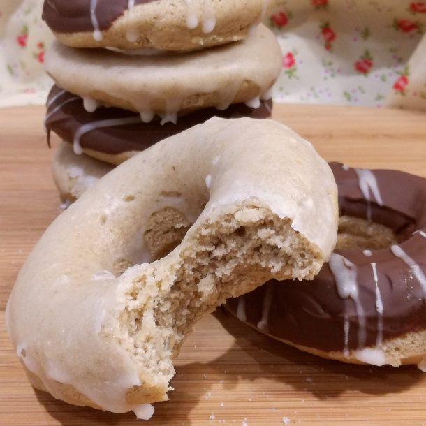 Amazing free from doughnuts made with the Free From Fairy wholegrain gluten free flour
