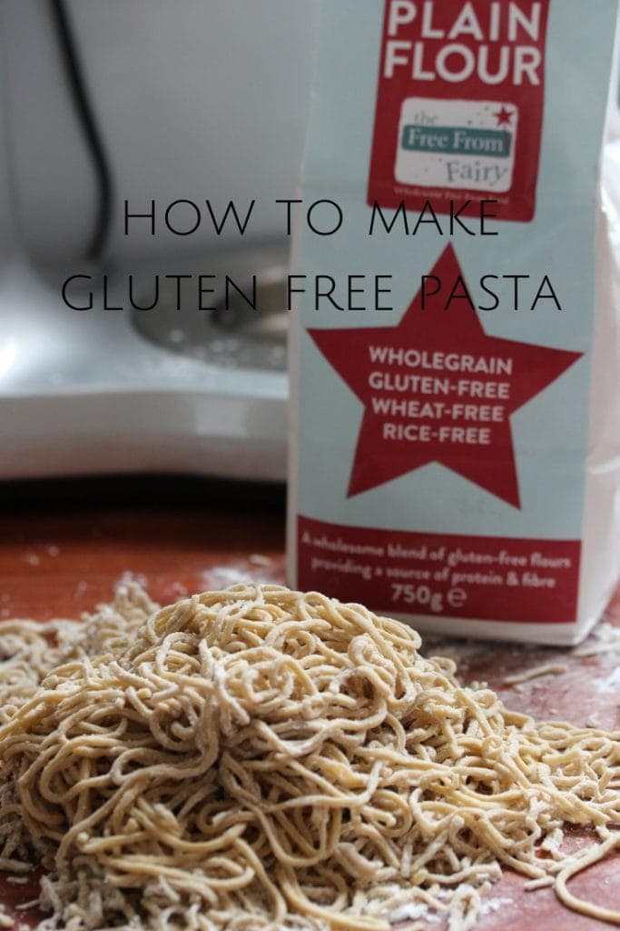 Find out how to make gluten free pasta. #glutenfree #glutenfreepasta #simpleglutenfreepasta #homemadeglutenfreepasta