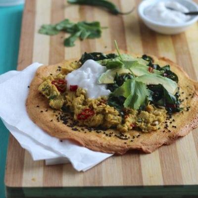 Nigella Seed Gram Flour Flatbread & A New App From Natural Kitchen Adventures