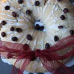 Clementine & Cranberry Wreath Bread