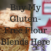 Buy the Free From Fairy's wholegrain gluten-free and rice-free flour blends on her online shop and never make an inferior bake again!