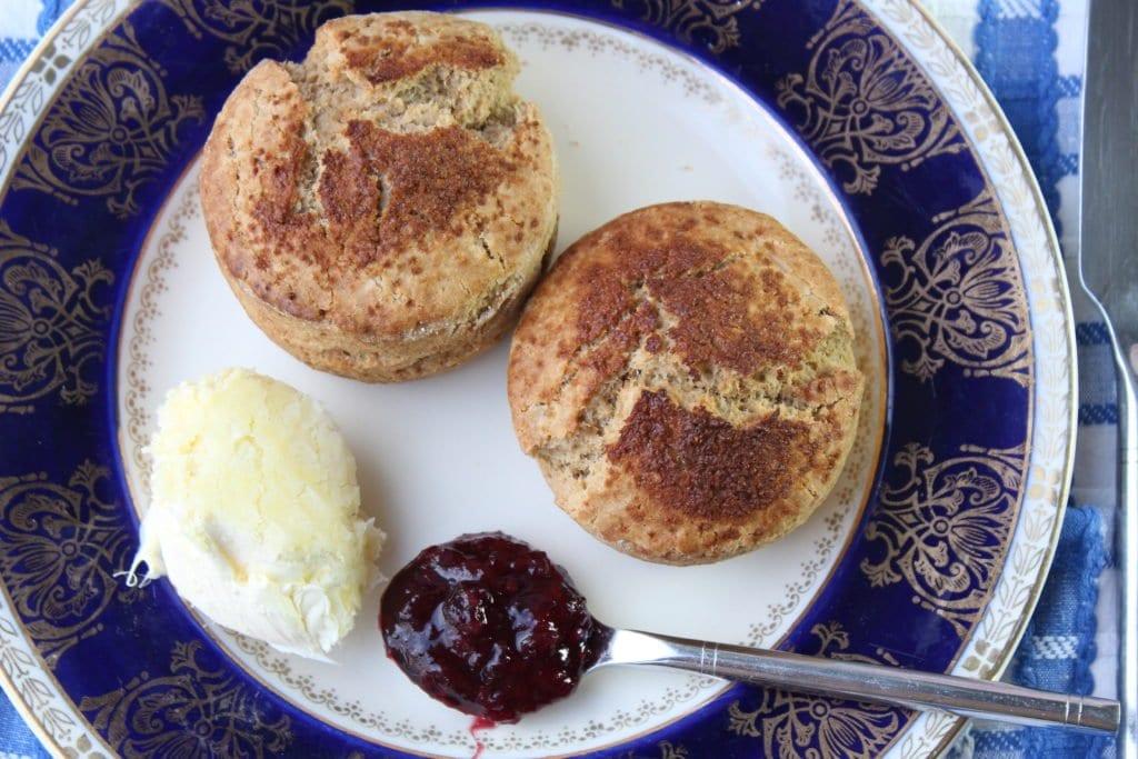 The best gluten-free scones made with wholegrain gluten free flour