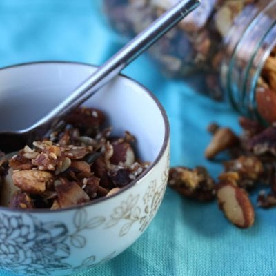 Carb-Free, Sugar-Free, Gluten-Free Granola Recipe