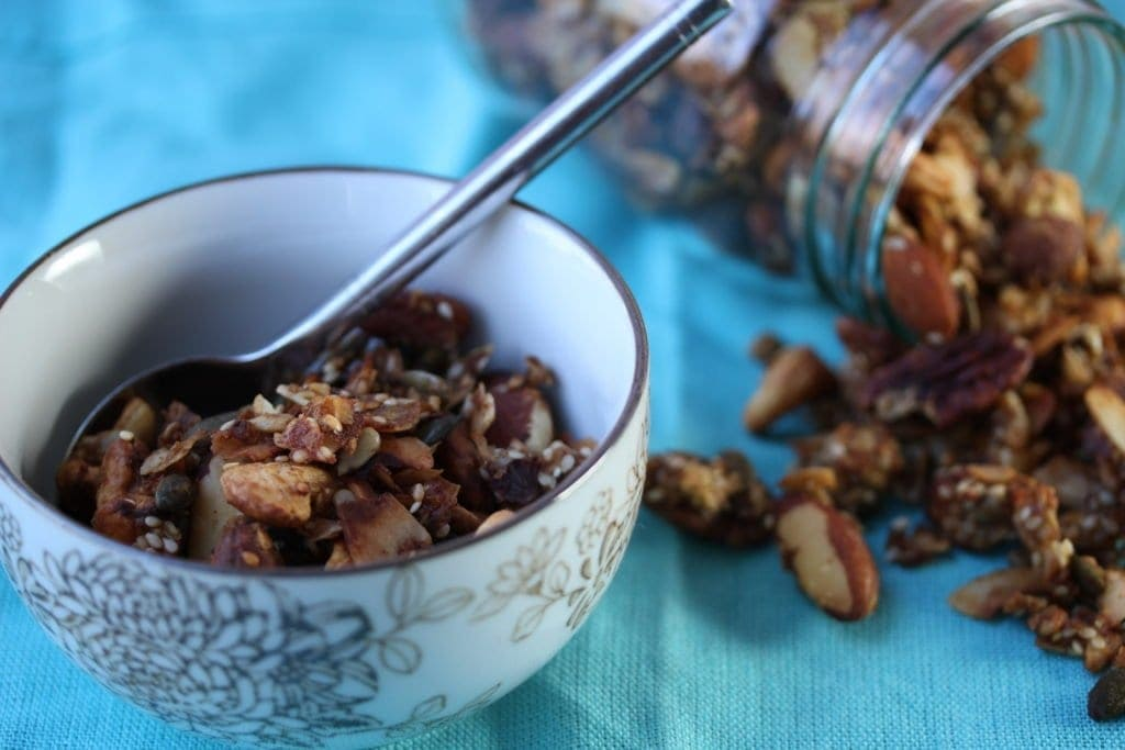Meet the low carb, healthy, low sugar, gluten-free granola. Perfect for January!