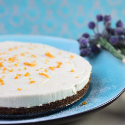 Gluten Free, Vegan Lemon Cheesecake