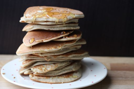 American pancakes made in a jar. Simple easy recipe that even kids can make. Made using Free From Fairy flour
