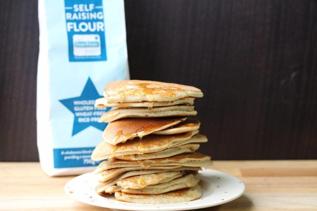 Easy pancakes in a jar gluten free dairy free freefrompancakes perfect pancakes made in a jar super simple and easy even the kids can do ccuart Gallery