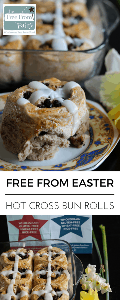 Create these oozy chocolate treats that are gluten-free, dairy-free, egg-free, nut-free, soya-free and low sugar this Easter. They are made from the Free From Fairy's wholegrain gluten-free flour blends.