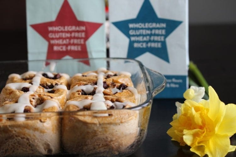 Hot Cross Bun Chocolate Rolls (Gluten-Free, Egg-Free, Can Be Dairy-Free) & A Chocolate Giveaway