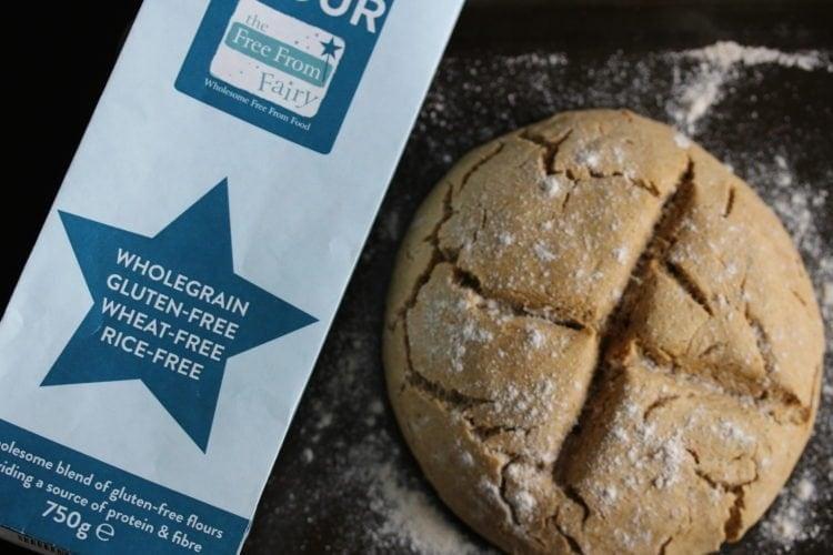 Moroccan Spiced Soda Bread (Gluten-Free, Dairy-Free, Egg-Free)