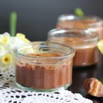 Chocolate and salted caramel pots - gluten-free, dairy-free, egg-free, nut-free, soya-free, low sugar