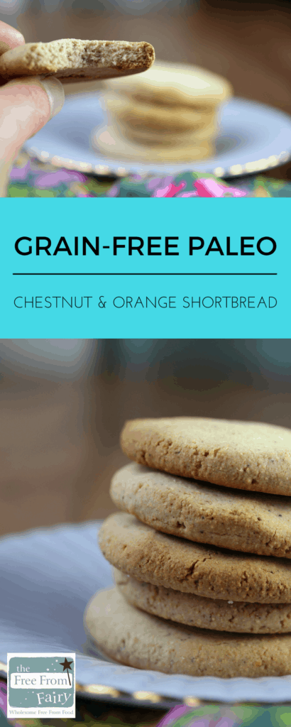 A simple recipe for grain-free, refined sugar-free, gluten -free, egg-free, nut-free shortbread. No coconut or nuts!