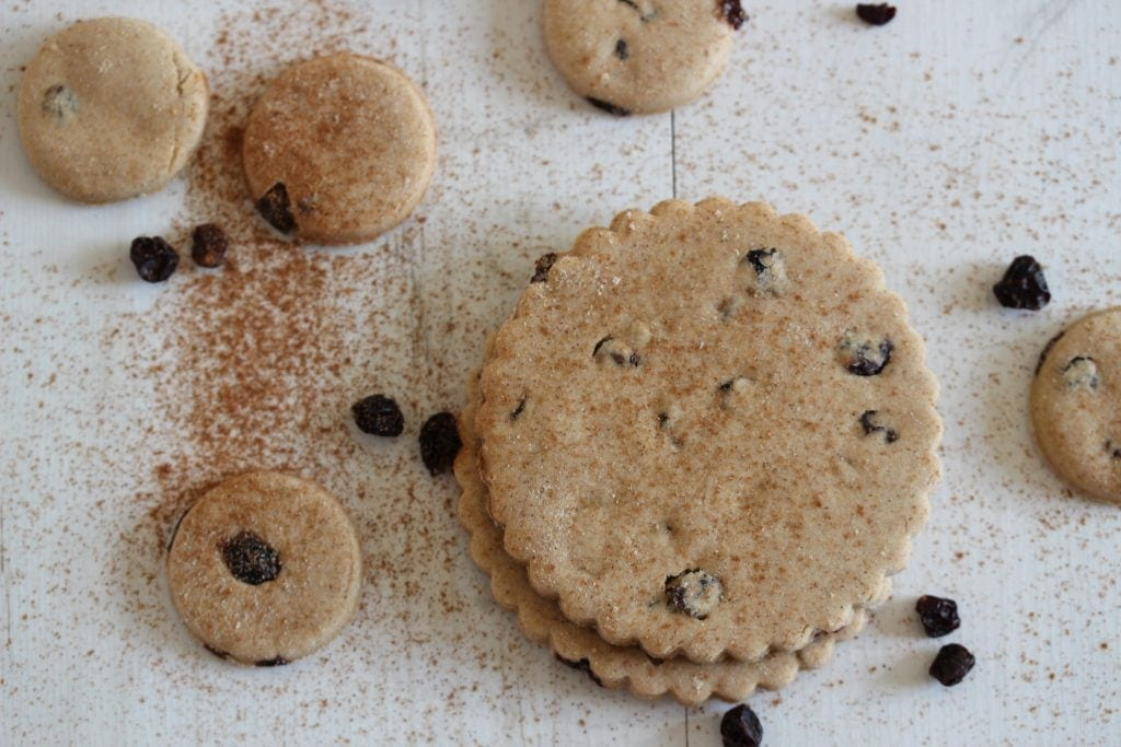 Simple to make gluten, dairy, egg, nut, soya and refined sugar free Easter biscuits made with wholegrain gluten free flour from the Free From Fairy.