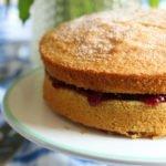 Perfect Gluten-Free, Dairy-Free Victoria Sponge Cake Recipe