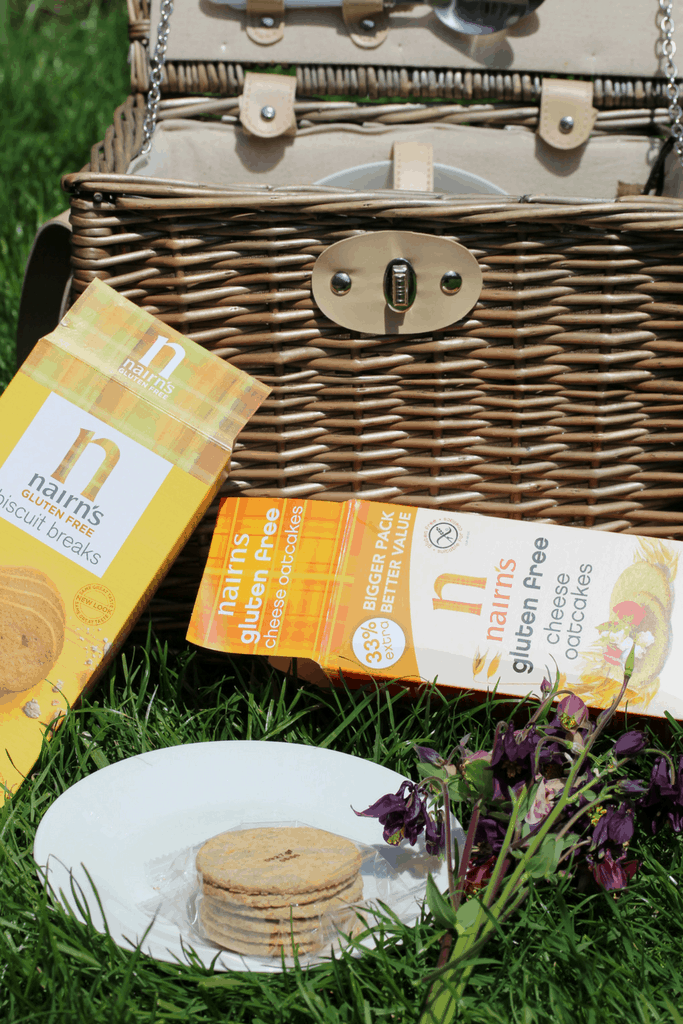 Nairn's gluten-free oat products are the perfect solution to picnics