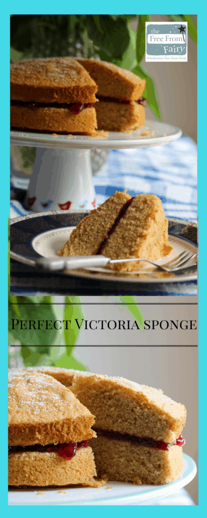 Want to make the perfect Victoria sponge but happen to be on a gluten-free and or dairy-free diet? Well I have the answer for you. This recipe is so simple but relies upon the amazing wholegrain gluten and rice free flour from the Free From Fairy. The double acting raising agents in the self-raising blend create great structure and rise without the need for any gums of thickeners. No xanthan gum or odd ingredients here...