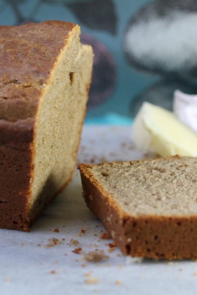 Simple all in one banana cake, no added sugar; gluten free and dairy free. Made using the Free From Fairy's wholegrain gluten and rice free flour blend
