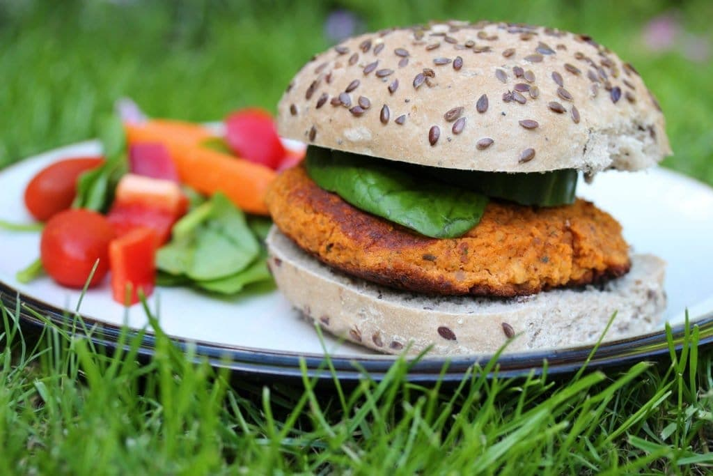 Simple recipe for veggie burgers free from gluten, dairy and soya.
