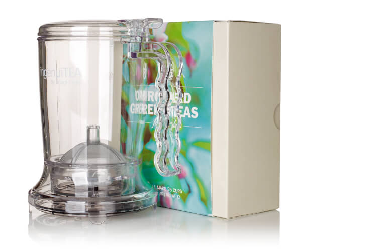 Win speciality teas, a tea infuser and special mug with the Free From Fairy