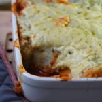 Cauliflower Crusted Shepherd's Pie (Low Carb, Gluten-Free, Paleo)