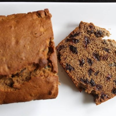 Barm Brack: Irish Fruit Bread (Gluten-Free, Dairy-Free, Egg-Free, Vegan)