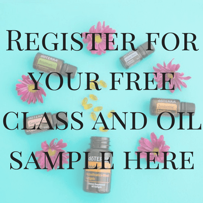 Free introduction to essential oil class and oil sample