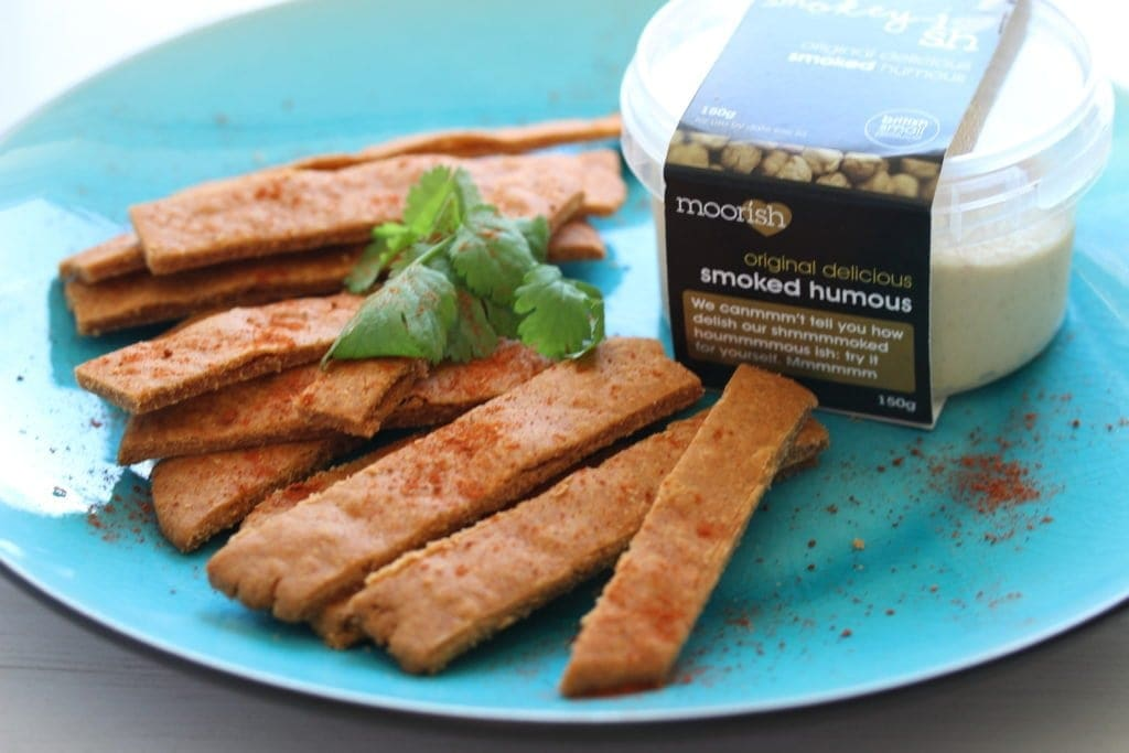 The perfect vegan and gluten free alternative to cheese straws. Delicious with dips.