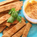 'Cheese-less' Crackers (Gluten-Free, Dairy-Free, Vegan)