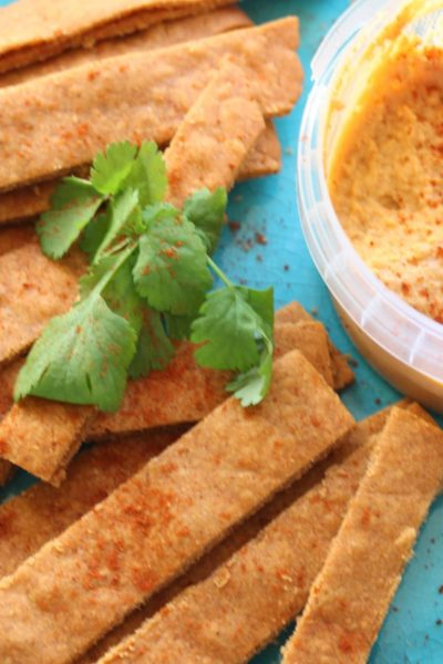 The perfect vegan and gluten free alternative to cheese straws!