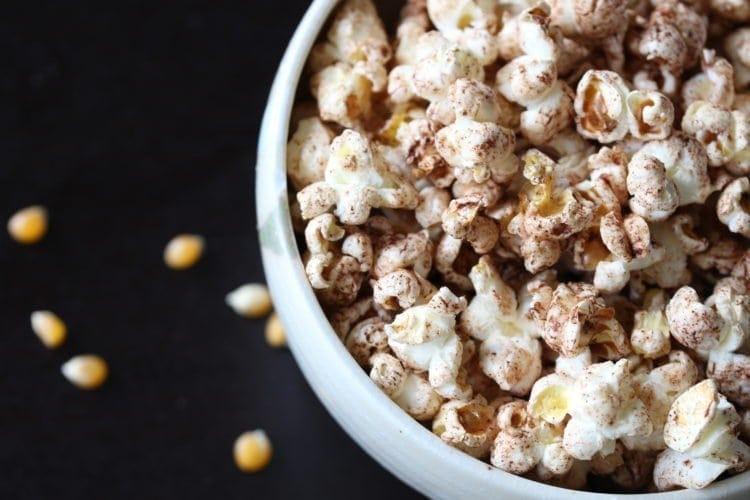 How To Make Wholesome Cinnamon Popcorn
