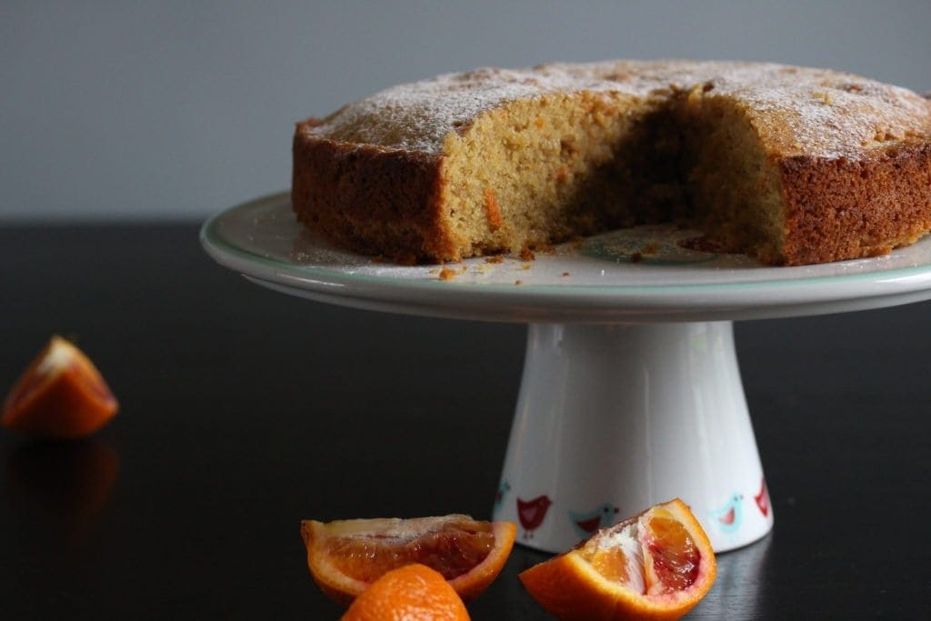 Easy whole orange and almond cake made with wholegrain gluten-free flour from the Free From Fairy