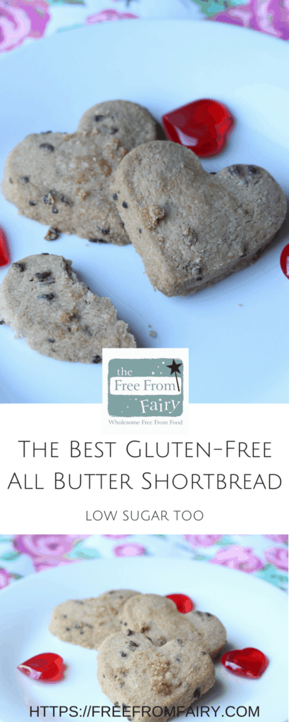 Make the most delicious melt in the mouth shortbread with the Free From Fairy's gluten-free plain flour and following this recipe. It's so easy and so delicious!