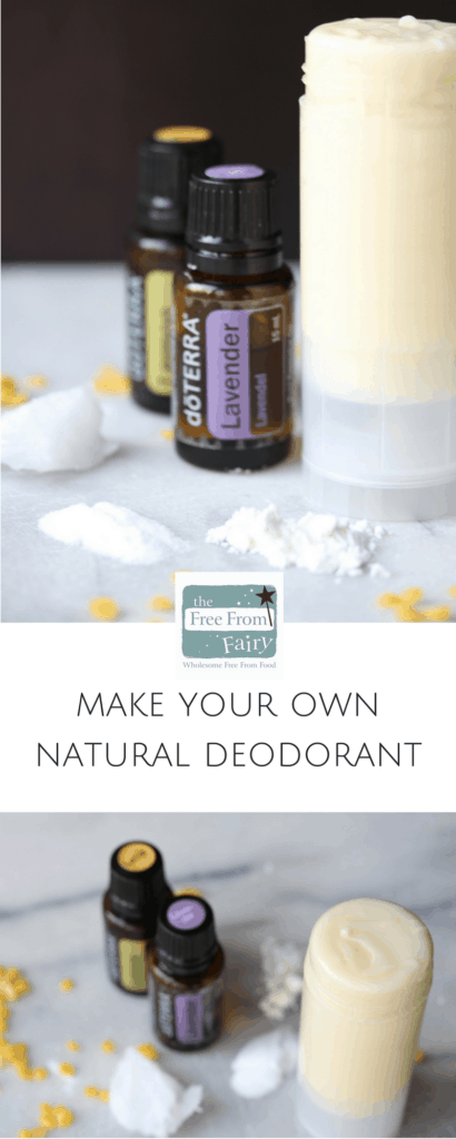 Make your own natural deodorant with just 6 ingredients and no chemicals. It works better than shop bought deodorant and is completely natural.