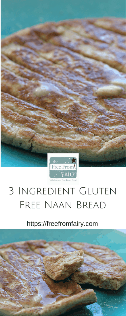 Discover how easy it is to make these naan breads with the Free From Fairy's wholegrain gluten-free and rice-free flour blend