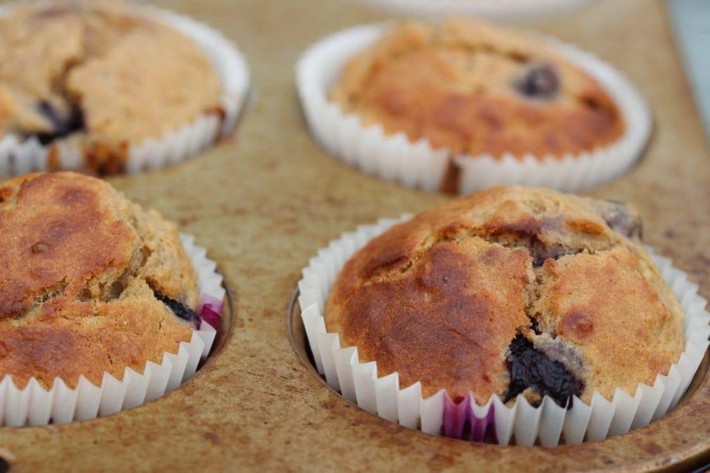 gluten free blueberry muffins. #refinedsugarfree #freefromfairy #wholegrain #glutenfreeflour #glutenfree