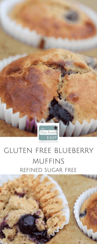 Gluten free blueberry muffins #glutenfree #refinedsugarfree #freefromfairy #wholegrain #glutenfreeflour