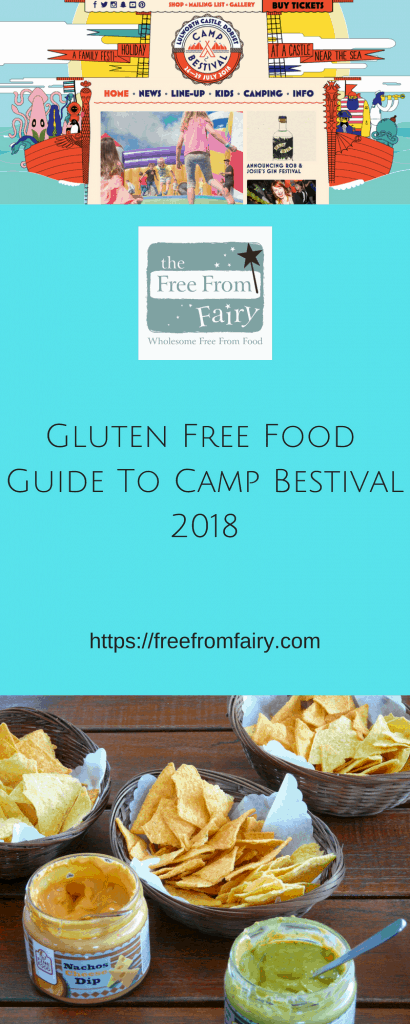 gluten free food guide to camp bestival 2018