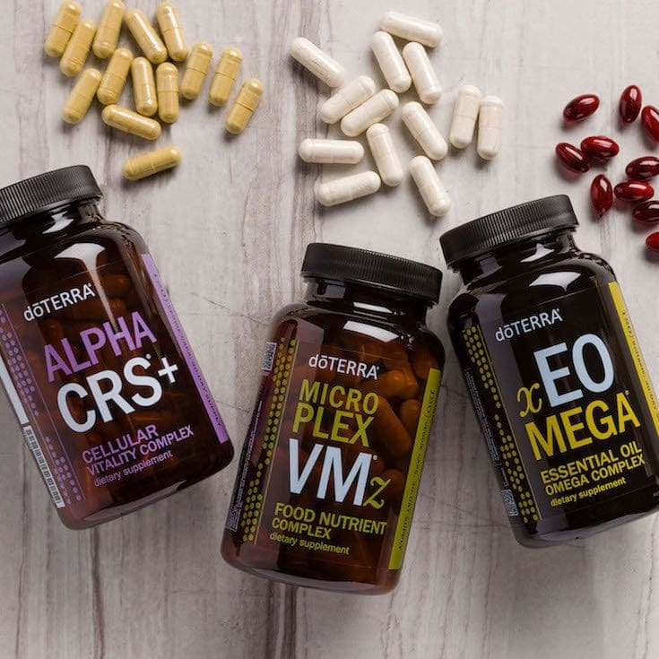 doTerra Lifelong Vitality nutrient supplements