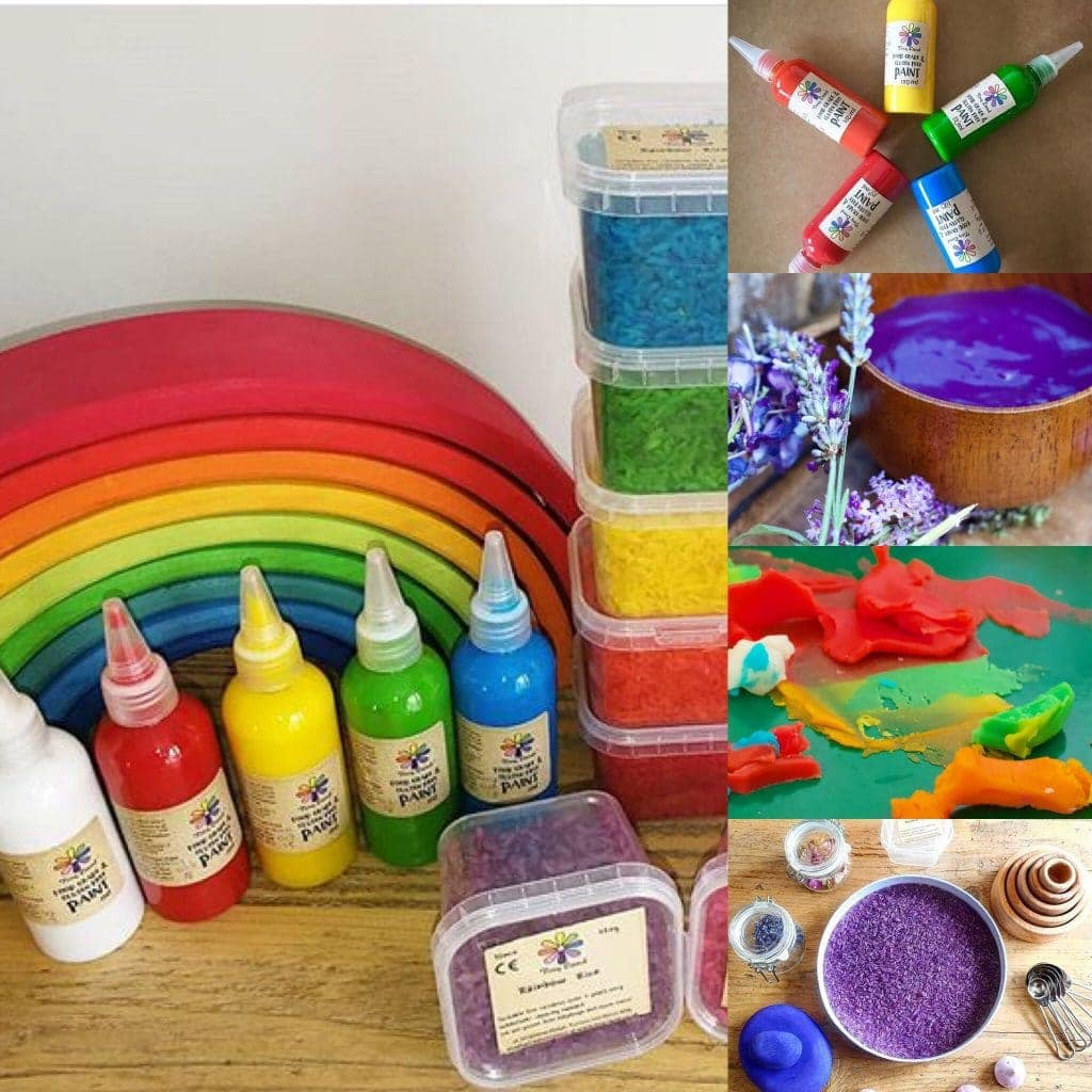 Tiny Land: gluten free art and craft supplies #glutenfree #playdough #glutenfreeplaydough