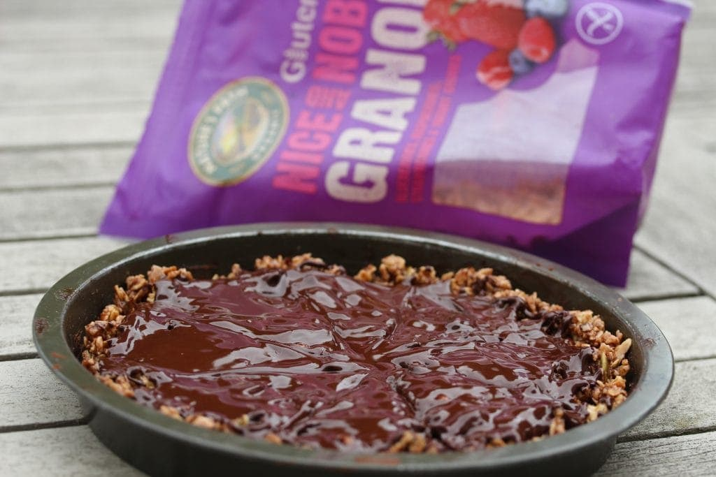 Gluten free tiffin; tiffin made with Nature's Path granola. A totally delicious and simple recipe with a huge free from giveaway too.