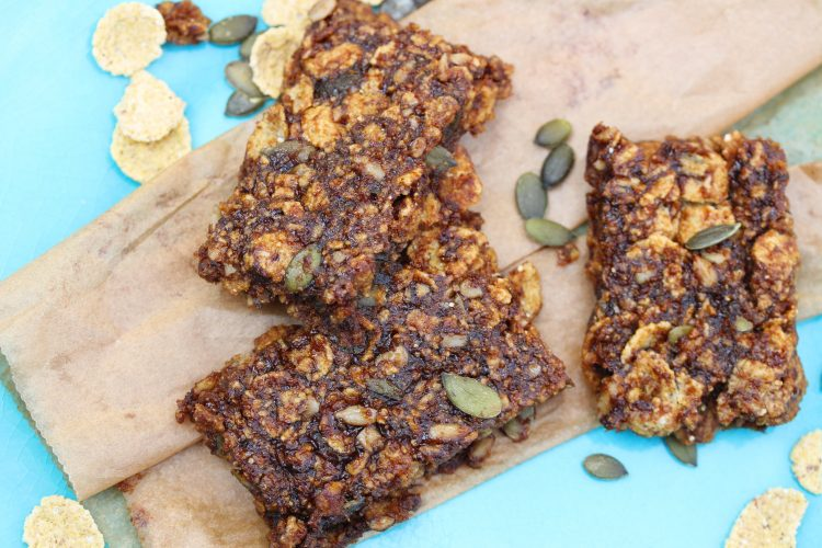 Fruit Cereal Bars; A Healthy Cereal Bar Recipe